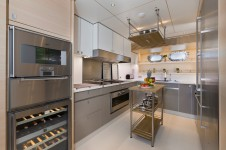 Sailing yacht Merlin -  Galley